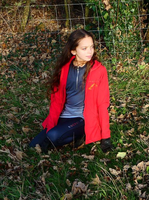 London Raspberry Red Softshell Jacket