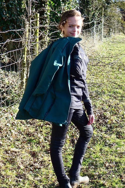 London Petrol Green Softshell Jacket