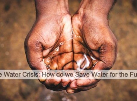 The Water Crisis: How do we Save Water for the Future