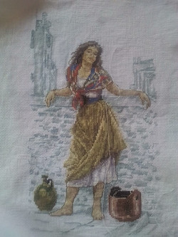 M Kostina Girl  with Jugs