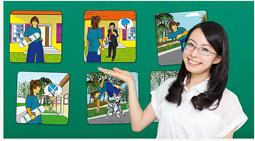 Comprehensible Input Story Cards