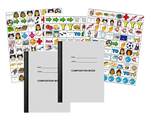 Spanish Sapling Assessment Stickers