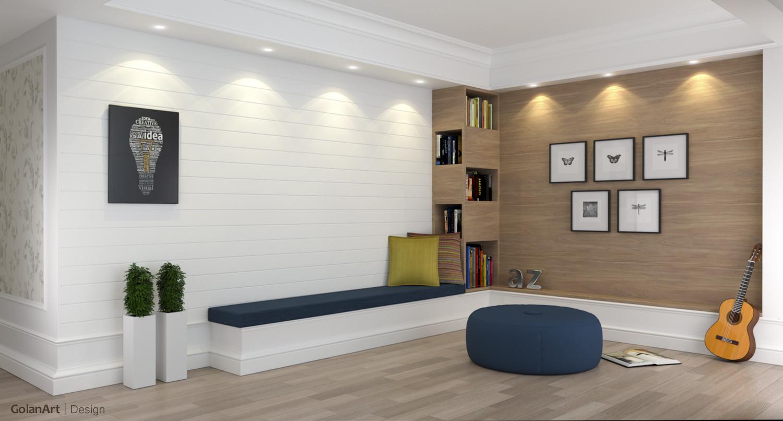 Interior design | GolanArt | home style design, sketchup interior