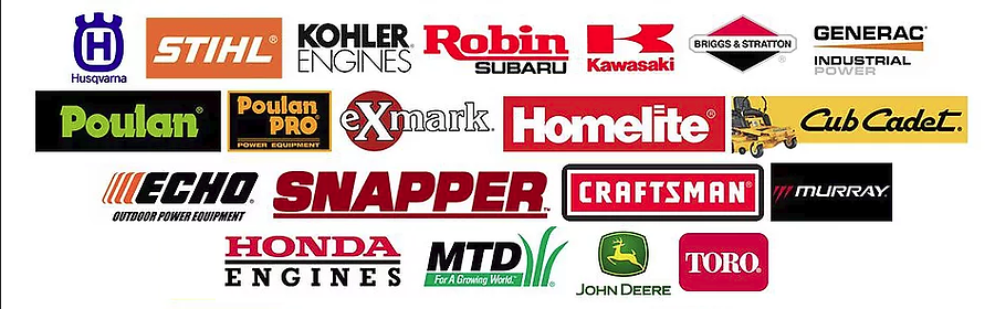 Lawn equipment brands we carry
