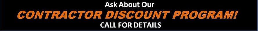 Contractor discounts