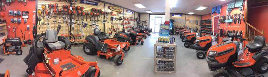 Lawn equipment inventory