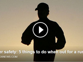 JOGGER SAFETY: 5 Things to do when out for a run!