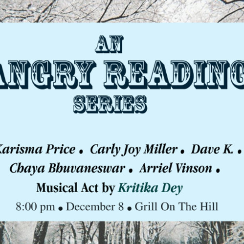 An Angry Reading Series