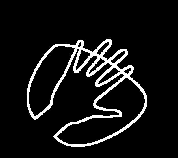 Illustration einer Hand