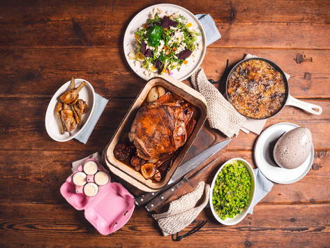 The ultimate family Easter menu by Tom Aikens