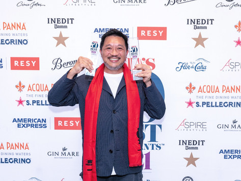 The Chairman at the top of Asia's 50 Best Restaurants 2021