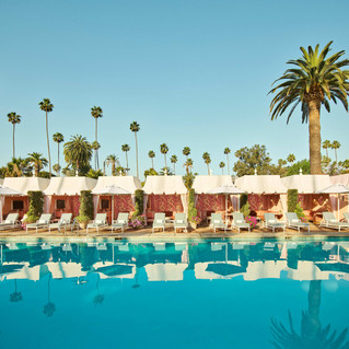 The Beverly Hills Hotel introduces an enhanced pool experience with chic redesign of its cabanas