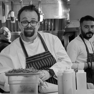Greek chefs at the James Beard House