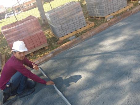 Você acha fácil ou difícil a instalação de piso intertravado?