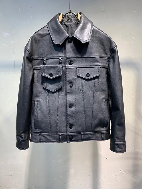 LV Leather Jacket Premium