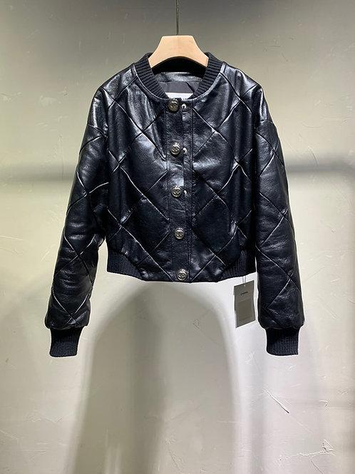 CHANEL Leather Jacket premium