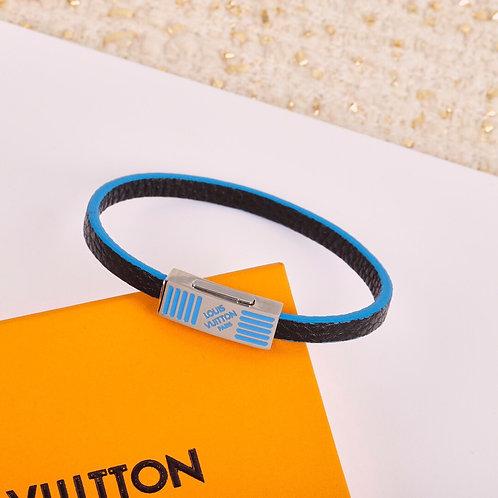 LV leather bracelet