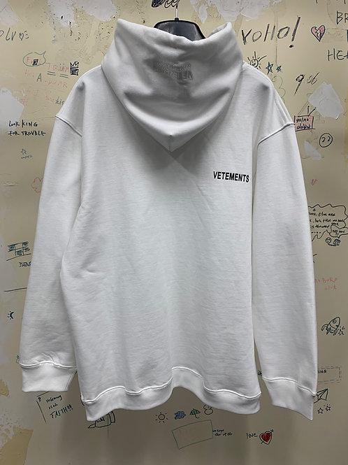 Vetement hoodie