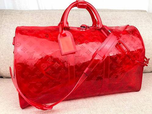 LV X VIRIL KEEPAL RED BAG