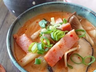 豚キムチ豆乳スープ