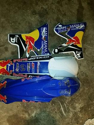 Kit plastique YZ 125 2010