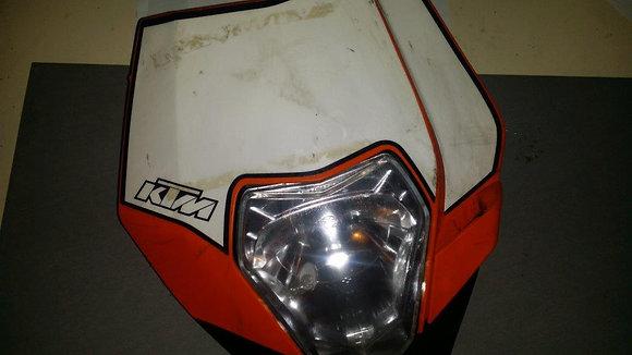 Plaque Phare KTM 450 EXC
