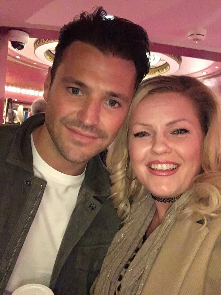 MARK WRIGHT AT OUR FILM PREMIER