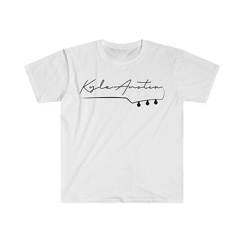 (EU ONLY) Kyle Austin Guitar Shirt (Black Letters)