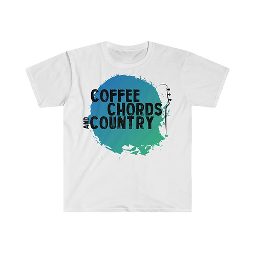 (EU) COFFEE CHORDS AND COUNTRY T Shirt