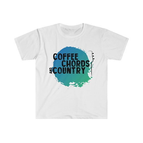 (USA) COFFEE CHORDS AND COUNTRY T Shirt