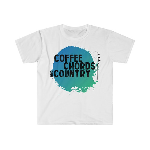 (UK) COFFEE CHORDS AND COUNTRY T Shirt