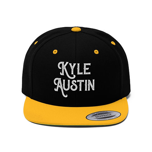 (USA) Kyle Austin Flat Bill Snapback