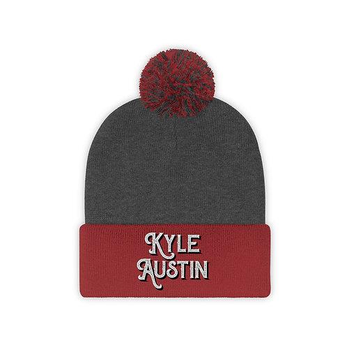 (USA) Kyle Austin Pom Beanie