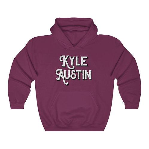 (USA) Kyle Austin LOGO Hooded Sweatshirt