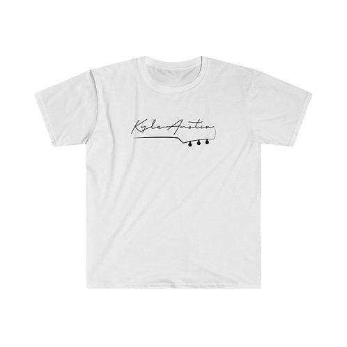 (USA) Kyle Austin Guitar Shirt (Black Letters)