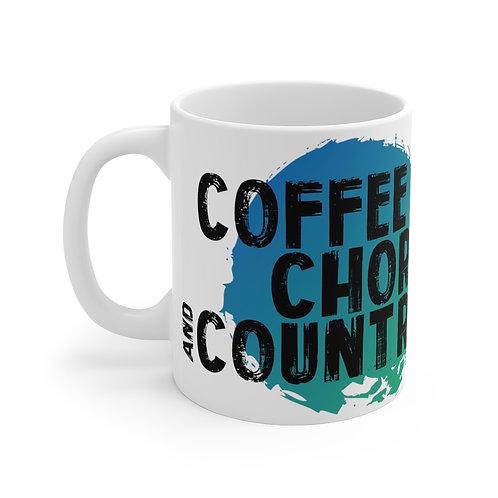 (UK) COFFEE CHORDS AND COUNTRY Mug