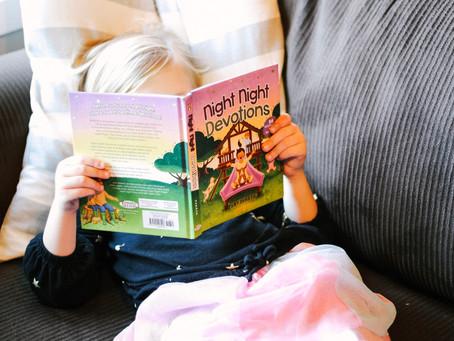 "Children's Book Review: ""Night Night Devotions"""