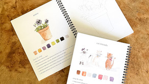 Gorgeous Watercolor Classes for The Whole Family