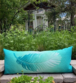 Feather Bench Pillow