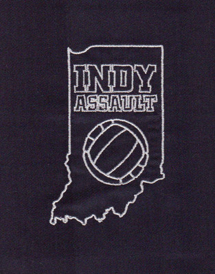 Indy Assault Embroidery