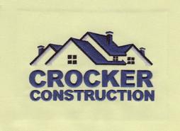 Crocker Construction Embroidery