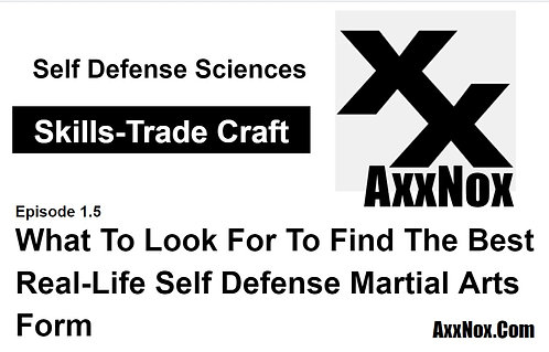 What Is The Best Real-Life Self Defense Martial Arts Training Class