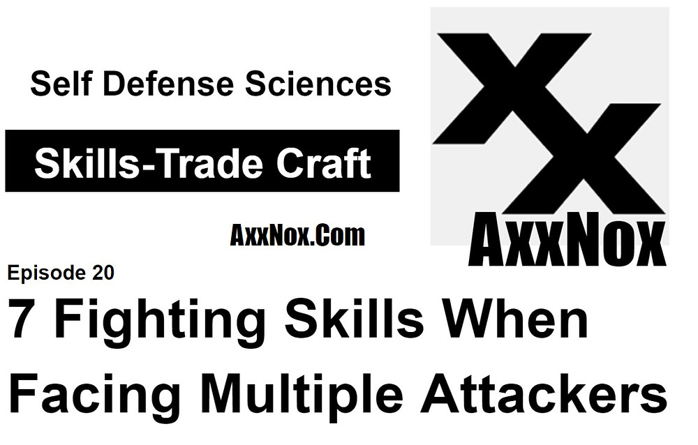 7 Fighting Skills When Facing Multiple Attackers