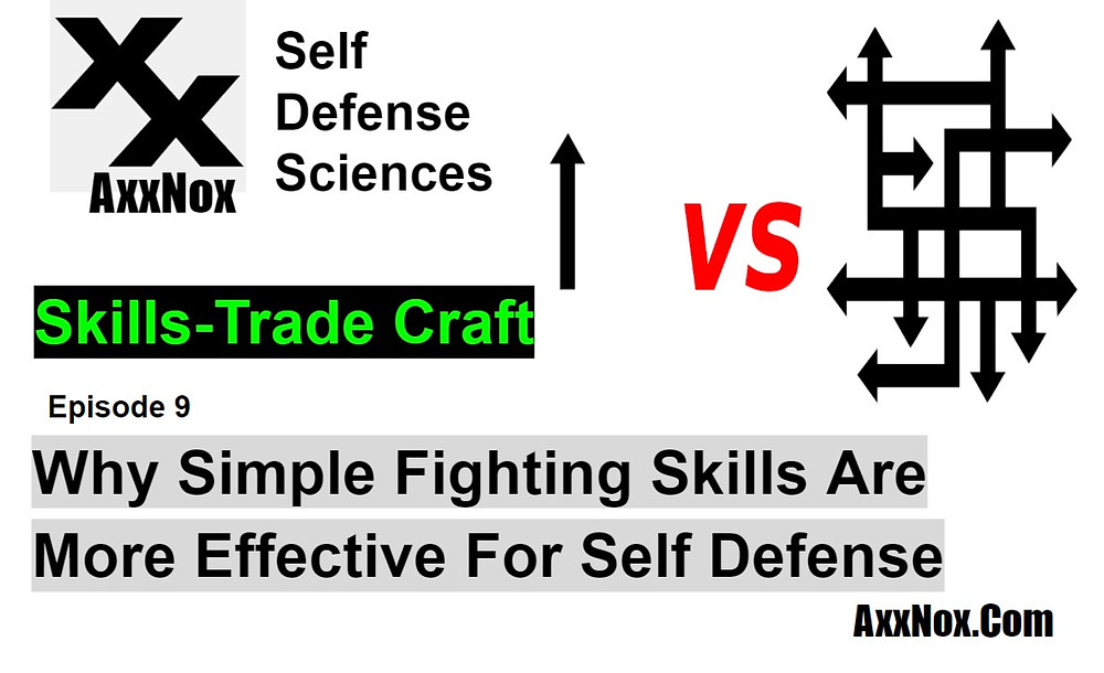 Why Simple Fighting Skills Are More Effective For Self Defense EP9