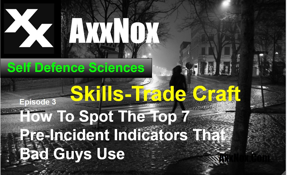 How To Spot The Top 7 Pre-Incident Indicators That Bad Guys Use