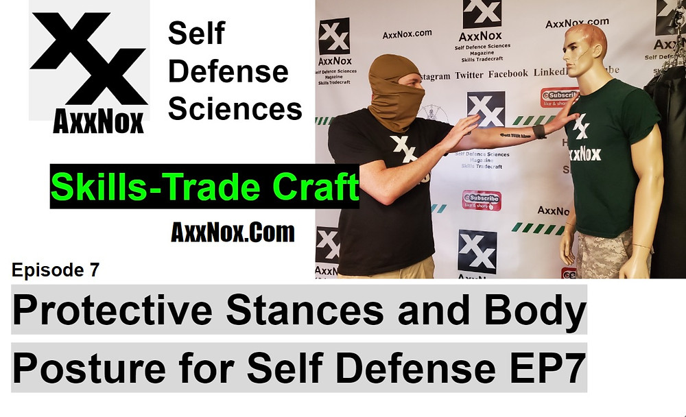 Protective Stances and Body Posture for Self Defense EP7