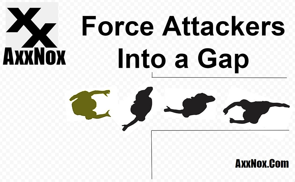 Force Multiple Attackers Into a Gap- AxxNox