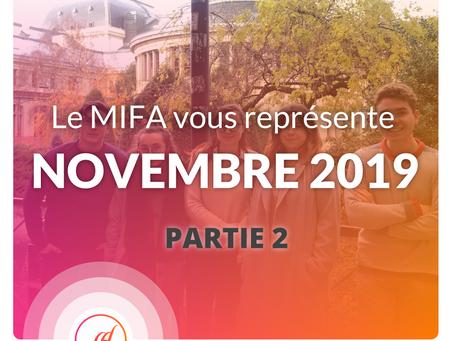 Le MIFA au rapport ! - NOVEMBRE (2/2)