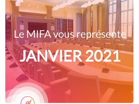Le MIFA au rapport - Janvier 2021