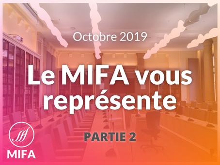 Le MIFA au rapport - OCTOBRE (2/2)